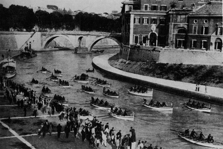 A.Ravaglioli, Le Rive del Tevere, tra l'Isola Tiberina e Lungotevere de'Cenci, 1934