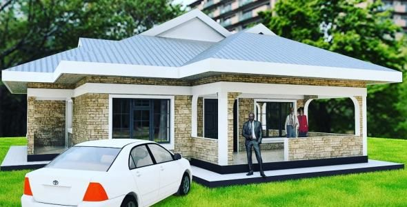 3 Bedroom House Plan Muthurwa Com In 2020 Diy House Plans House Designs In Kenya My House Plans