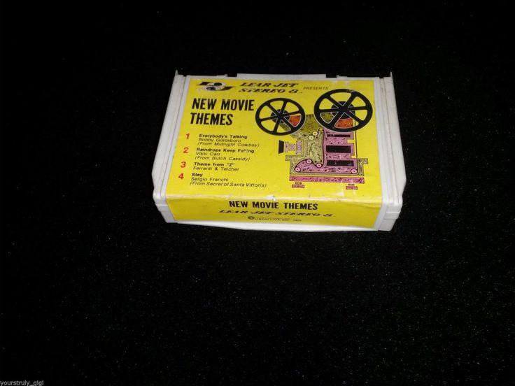 8 Track Folding Tape Lear Jet Stereo 8 Car Music RARE Unique Item 1970'S | eBay