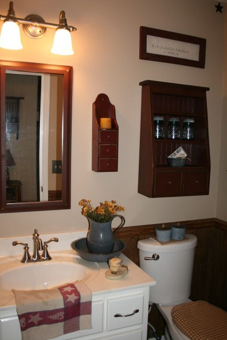 195 best primitive bathroom ideas images on pinterest | primitive