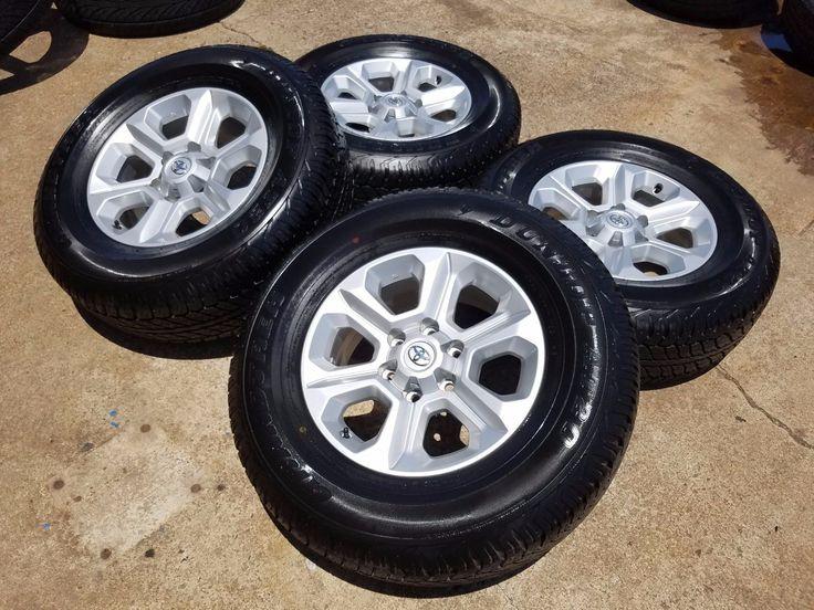 "Cool Toyota 2017: 17"" Toyota Tacoma 2016 2017 wheels rims tires Fits 1999-2015 4Runner FJ Cruiser Check more at http://24auto.cf/2017/toyota-2017-17-toyota-tacoma-2016-2017-wheels-rims-tires-fits-1999-2015-4runner-fj-cruiser-2/"