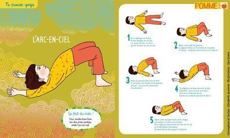 L'arc-en-ciel, yoga de Pomme d'Api ! #pommedapi #yoga #yogaenfant #yogapourenfan