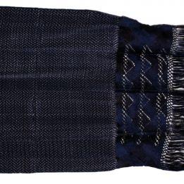 IKAT Rebozos – Handwoven Mexican Shawls » Patzcuaro Navy Blue