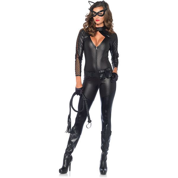 Adult Wicked Kitty Sexy Costume ($70) ❤ liked on Polyvore featuring costumes, halloween costumes, multicolor, colorful halloween costumes, colorful costumes, sexy adult costumes, sexy adult halloween costumes and leg avenue