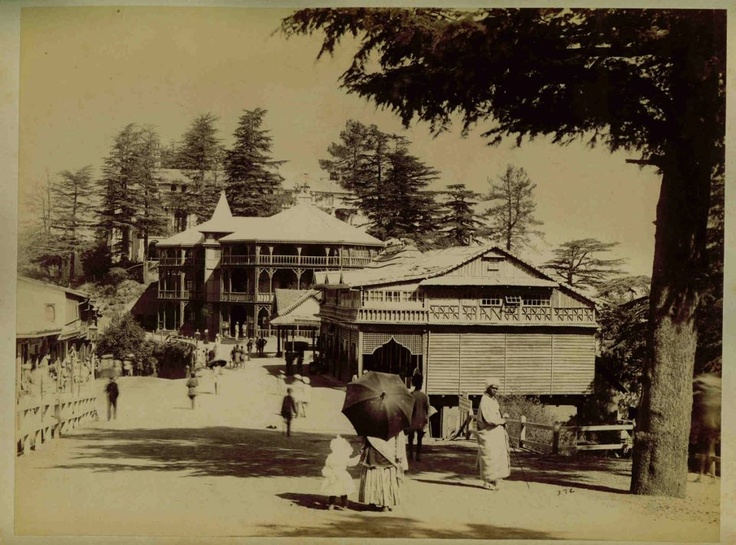 Incredible Eye-Catching pic... Scandal point ,the mall(1880 AD) . Guess which building is now occupied by ICICI