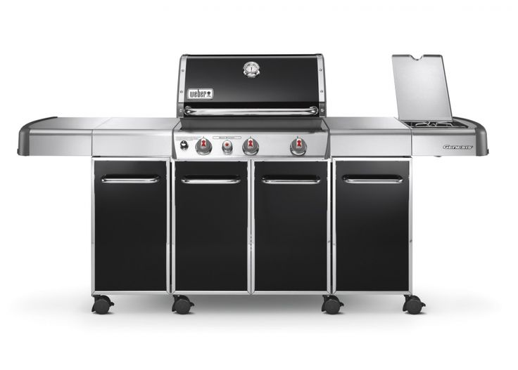 ... � Weber Gas BBQ � Genesis Grill Nave E330 Black Gas BBQ by Weber