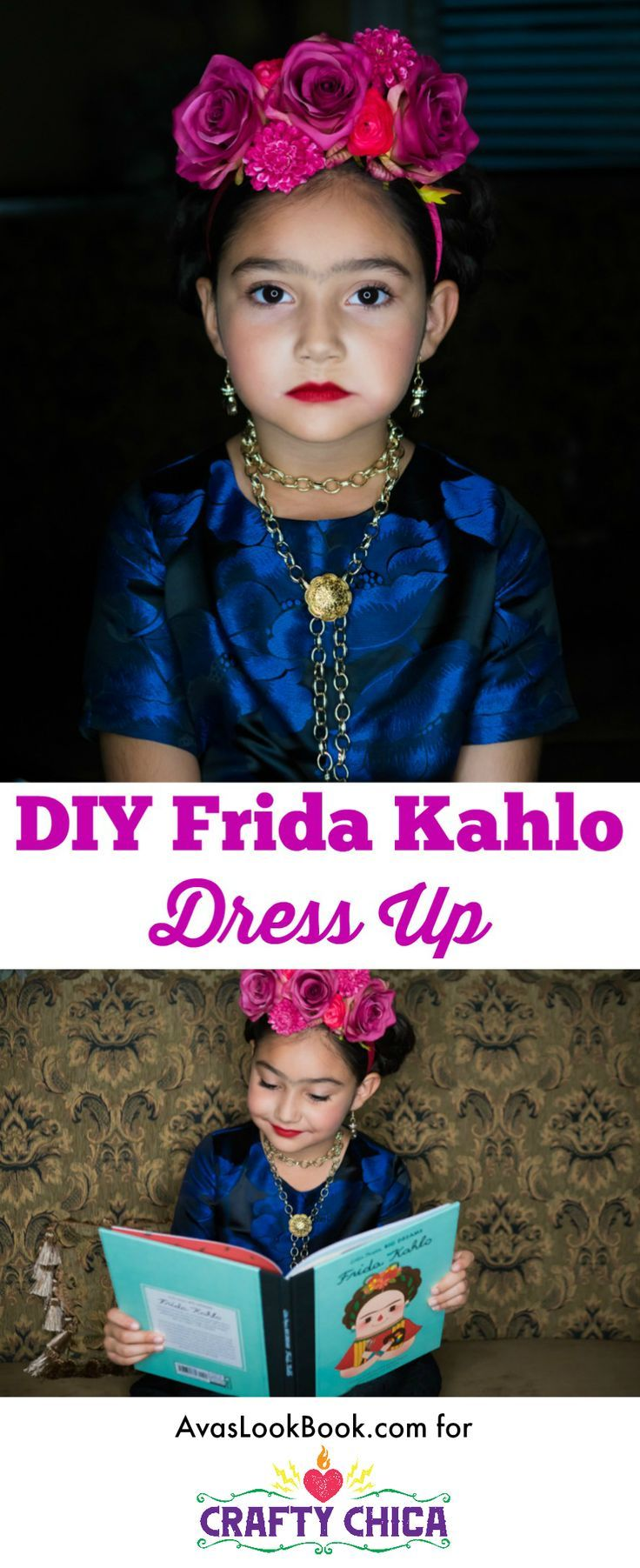 DIY Frida Kahlo Costume - Crafty Chica