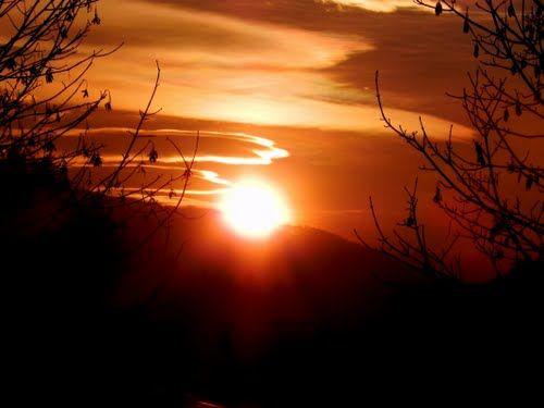 #tramonto a Ponzone Biellese, foto alma-emilio #sunset #OasiZegna