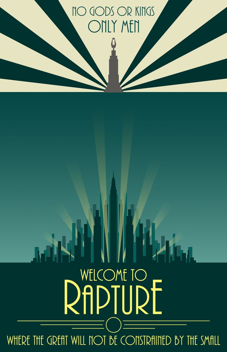 Bioshock Rapture Posterwelcome To Rapture By Open Circle On Deviantart Qkruvet