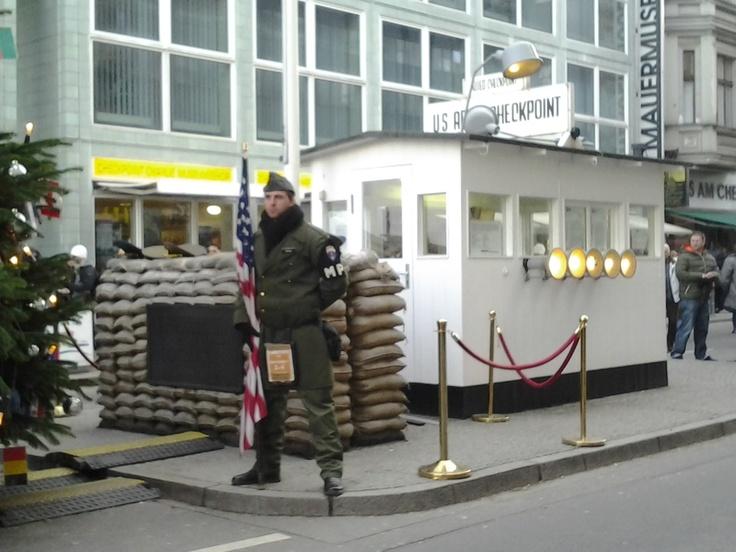 Checkpoint Charlie, Berlín (Alemania)
