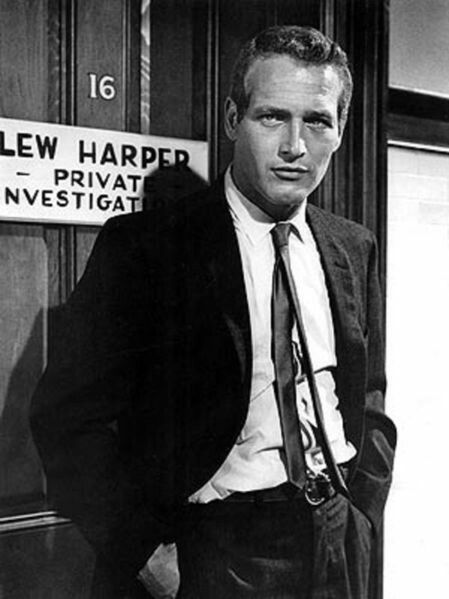 ​Paul Newman as P.I. Harper in 1966. You're welcome.