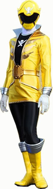 Gia Yellow Super MegaForce Power Ranger {Ciara Hanna}