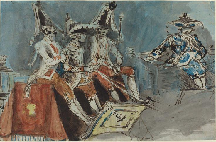 Constantin Guys Coachmen 19th century National Gallery of Art (U.S.)