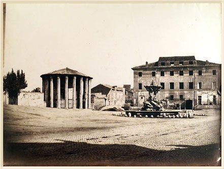 Rome, Le Temple de Vesta 1865 (ca)