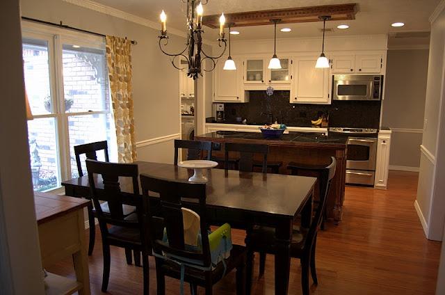 Colors Benjamin Moore Stonington Gray + Chantilly Lace: Kitchens, Wall Colors, Favorite Paintings Colors, Chantilly Lace, Favorite Paint Colors, Stonington Gray, Benjamin Moore, White Cabinets, Gray Wall