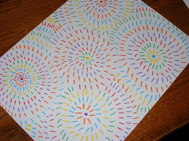 Simple Art Projects Ten Kids And A Dog Easy Art