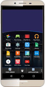 Panasonic Eluga Note Champagne Gold price in India | Buy online | OnlyMobiles.com