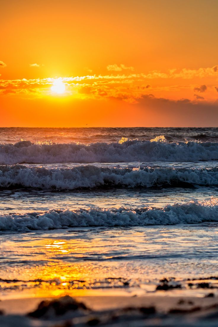Sunrise at Cocoa Beach, Florida  (by Sven Lierzer on 500px)