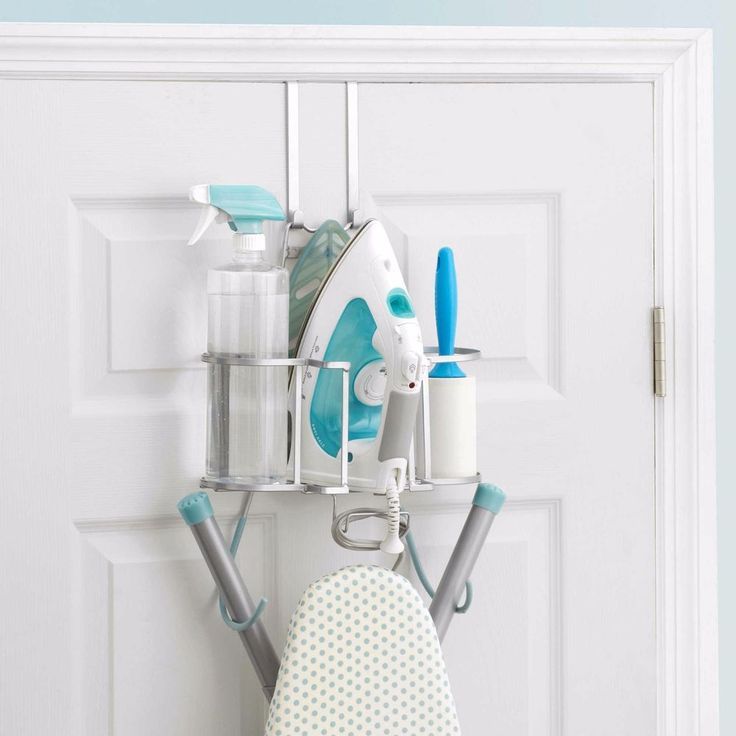 New Home Wall Mount Storage Over Door Holder Laundry Iron