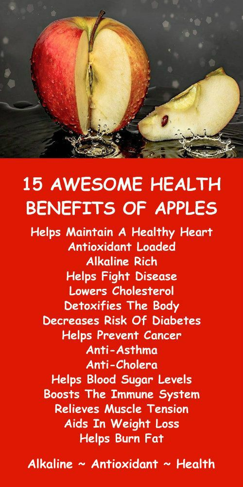 15 Awesome Health Benefits Of Apples.