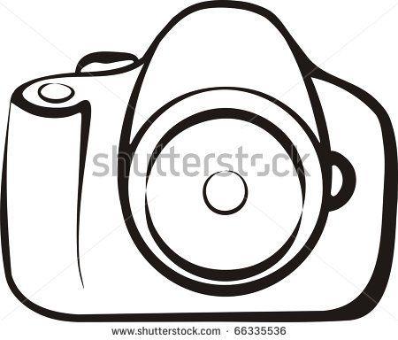 simple camera outline wArn0tB6 Flash art ~A.R.