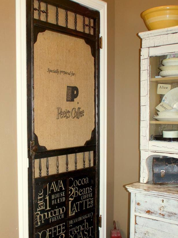 Do it yourself message station you can do this find an for Buy screen door