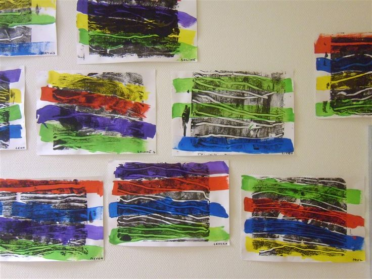 Voici la suite de notre travail sur les lignes avec les lignes horizontales chez Isabelle L