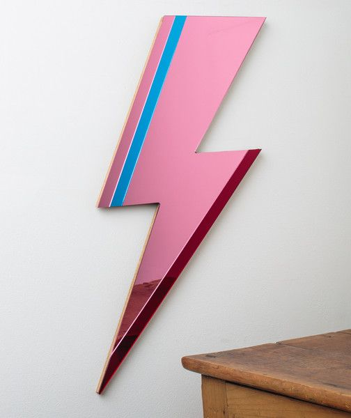 Pink Lightning Mirror - Free SHIPPING | Bride & Wolfe