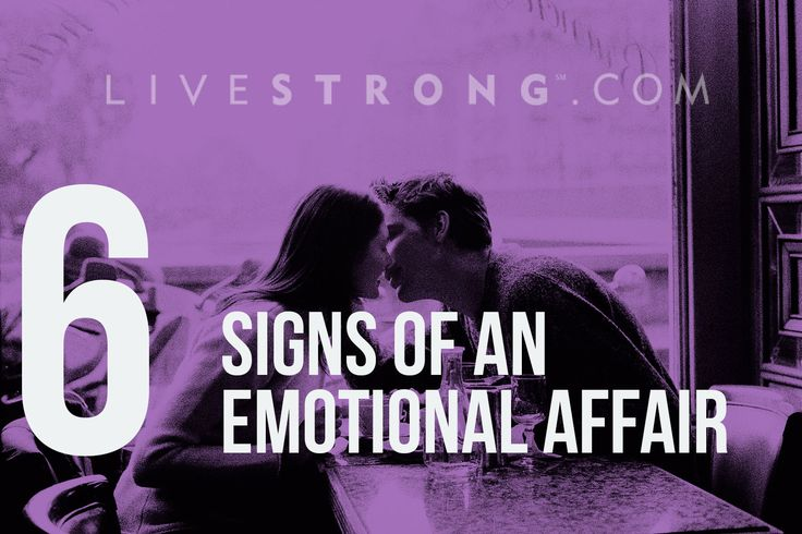 Signs Your Partner Is Having an Emotional Affair