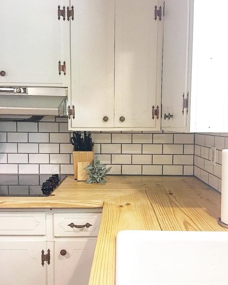 25 best butcher block countertops ideas on pinterest - Best material for bathroom countertops ...