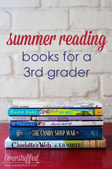 Summer Reading for a 3rd Grader #overstuffedlife