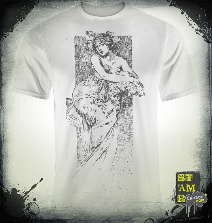 Nymph (Davy's Grey) 2014 Collection - © stampfactor.com *T-SHIRT PREVIEW*