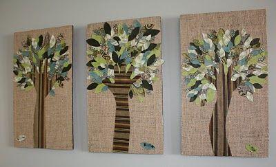 Handprint tree art!: Hands, Podged Hand, Art, Kids, Craft Ideas, Mod Podged, Crafts, Hand Trees
