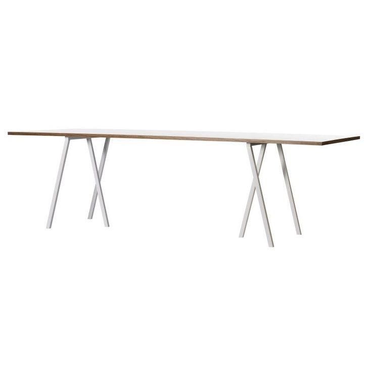 Loop Stand Table | Tisch, Tischbock, Tischbeine weiß