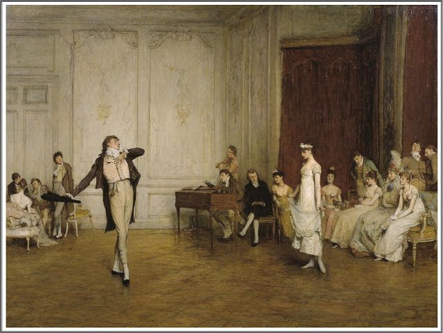 William Quiller Orchardson (1832 - 1910), Her First Dance - 1884