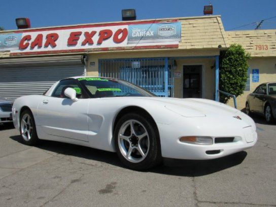 Coupe, 2000 Chevrolet Corvette Coupe with 2 Door in Downey, CA (90241)