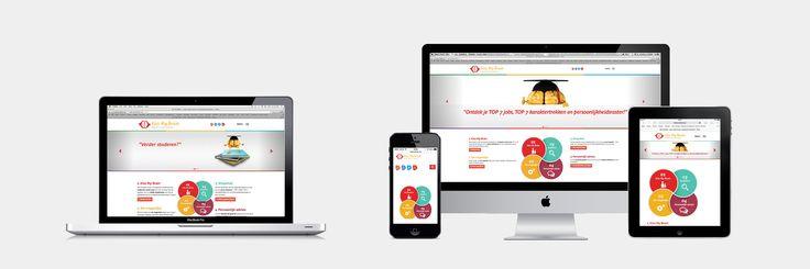 Kiss My Brain - Website realisatie - Communicatie en reclamebureau 2design Roeselare - Grafisch ontwerp, webdesign en apps - Webshop