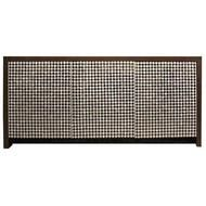 Stunning Mother of Pearl and Black Stone Credenza,  Wenge wood finish.