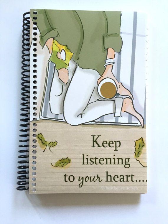 Gratitude Journal Keep Listening to Your by RoseHillDesignStudio