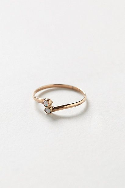 Vintage Wrapped Opals Ring by shopFiligree #anthropologie
