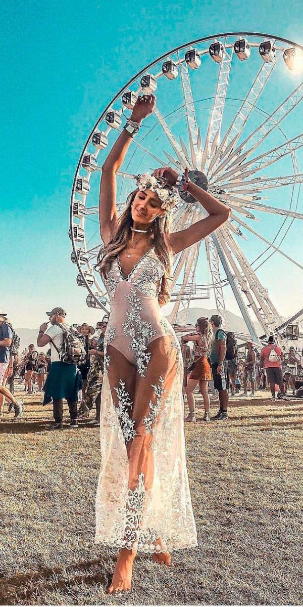 All Brides Think Of Finding The Most Suitable Wedding Ceremony But For This They Require Music Festival Outfits Festival Outfit Coachella Boho Festival Outfit