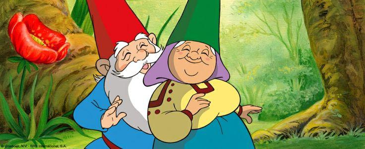 David el Gnomo y Lisa su esposa