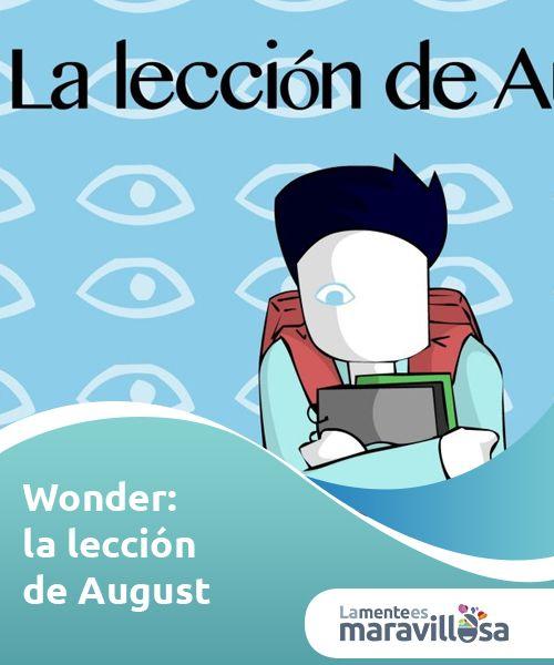 """Wonder: la lección de August   #Wonder es una historia que llega directa al #corazón. La historia de August, su familia y amigos nos #enseñara una gran lección: """"...todos vencemos al mundo"""".  #Cine,seriesypsicología"""