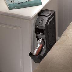 Biometric Lock Gun Safe for Nightstand in Bedroom
