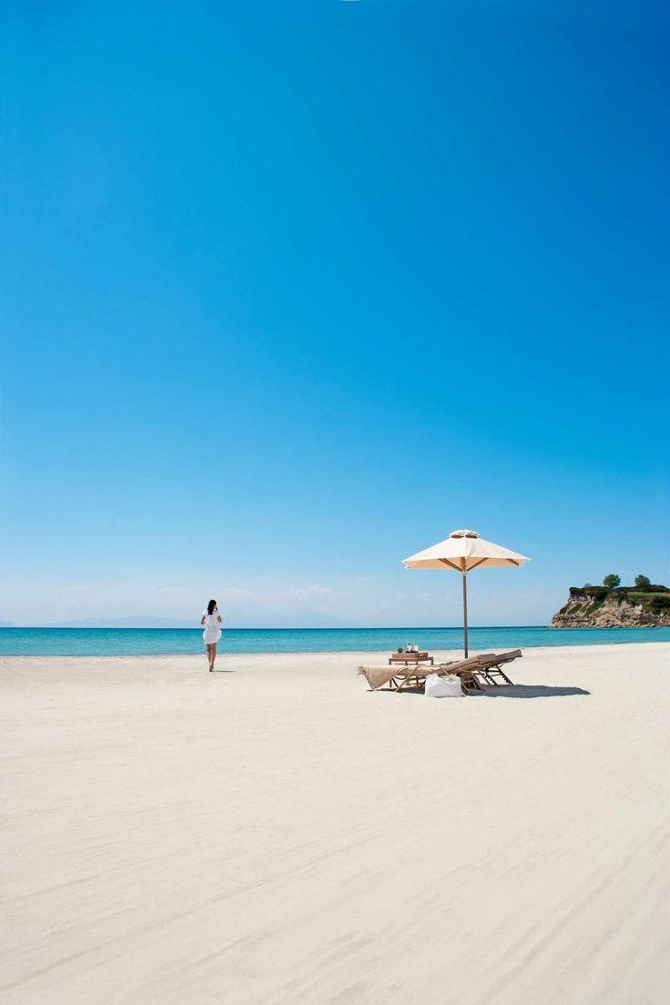 Discover Sani Asterias beach in Halkidiki