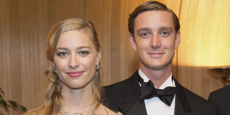 Grace Kelly's grandson married Beatrice Borromeo an Italian aristocrat in MONACO today