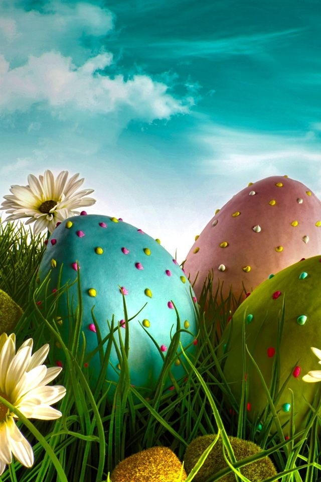 Easter Eggs- this would be so cool as a LARGE exterior decoration