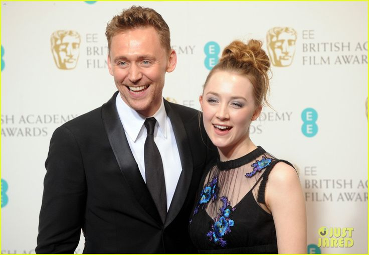 Tom Hiddleston & Saoirse Ronan - BAFTAs 2013 Red Carpet | 2013 BAFTAs, Saoirse Ronan, Tom Hiddleston Photos | Just Jared