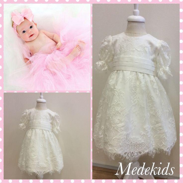 Dantel özelgün elbisemiz #medekids#handmade#elişi#elemeği#dantelelbise#mevlid#vaftiz#elbise#dress#doğumhediyesi#baby#girl#0/3ay#babyshower#