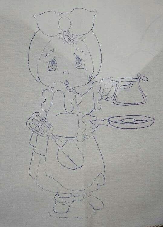 Niña con desayuno
